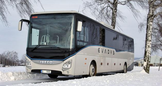 Všestranný autobus Iveco Evadys