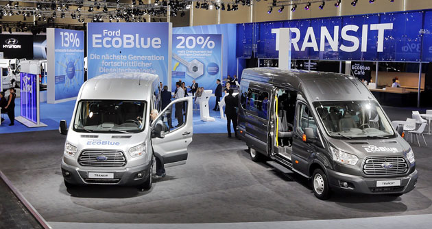 Ford Transit na výstavě IAA vHannoveru