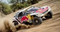Celkový vítěz Rallye Dakar 2017 Stéphane Peterhansel sPeugeotem 3008DKR