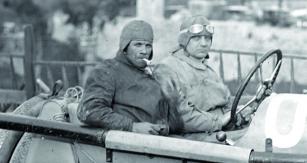 Otto Hieronymus zavolantem svého posledního závodního vozu – Steyru 6 C. Vroce 1922  vyhrál třílitrovou kategorii  naslavném závodě Targa Florio.  Otýden později však našel  vestejném voze veŠtýrsku smrt.