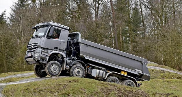 Vozy Mercedes-Benz Arocs