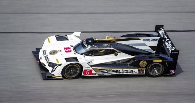 João Barbosa (Cadillac DPi-V.R No.5) vládl kvalifikaci a zajel nejlepší čas