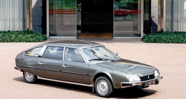 Luxusní Citroën CX 2400 Prestige modelového roku 1983