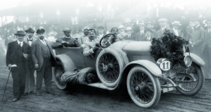 Vcíli Karpatské jízdy vroce 1914.