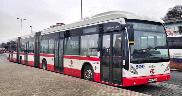 Belgický autobus Van Hool AGG300