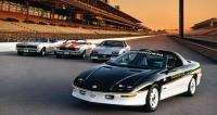 Zajímavostí je, že Camaro po čtyři generace (1967 až 2002) stálo na stejném základu v podobě platformy F-body
