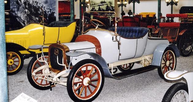 Torpedo Delahaye typ 28A (ročník 1908) ve sbírkách Národního automobilového muzea ve francouzských Mylhúzách