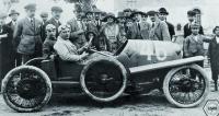 """Vroce 1922 se vozy """"Sascha"""" objevily též  naslavné Targa Florio, kde vyhrály třídu."""