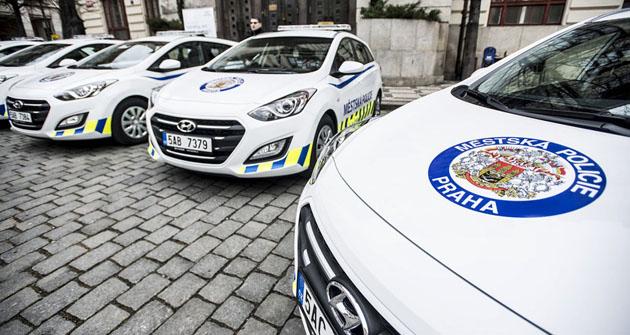 Dalších 54 vozů dodá Hyundai Městské policii Praha