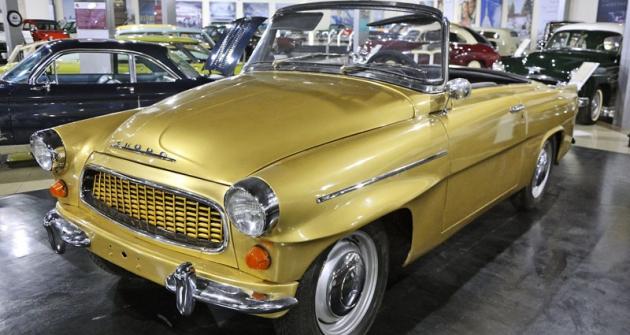 """Česká stopa s lakonickým popiskem """"Škoda Felicia (1961), Czechoslovakia; 160km/h"""""""