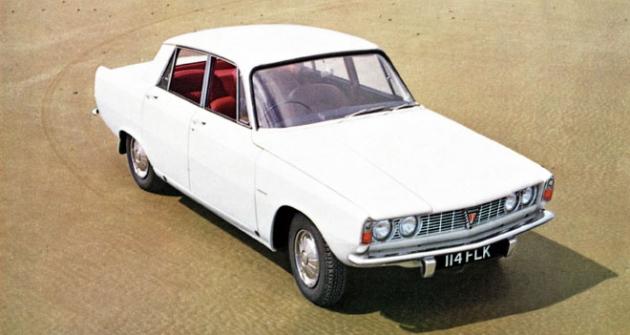 Rover 2000 (P6), první evropský Vůz roku (COTY, 1963/1964)