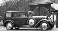 Limuzína Škoda Hispano-Suiza s karoserií Weymann od firmy Aero (1928)