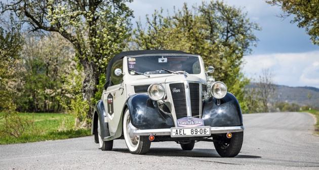 Nejstarším automobilem závodu byla Praga 1128 Sport s motorem 1,1 litru ovýkonu 28 koní