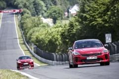 Na trati Severní smyčky okruhu Nürburgring strávila Kia Stinger mnoho testovacích okruhů. I proto zde fungovala skvěle