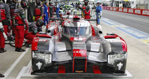 Audi Sport Team Joest se rozloučil ve 24 h LeMans třetím místemvročníku 2016 (posádka DiGrassi/ /Duval/Jarvis  na typu R18 TDI)
