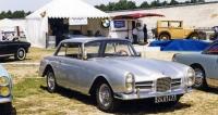 Facel III (1964), vylepšená Facellia se čtyřválcem Volvo 1,8 litru