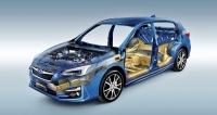 Nová globální platforma Subaru se představila vaktuální páté generaci modelu Impreza