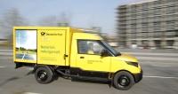 StreetScooter Work v barvách německé pošty, pro jejíž potřeby byl primárně vyvinut