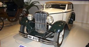 Kabriolet Walter Standard 6 ročníku 1931 ze sbírky NTM v Praze