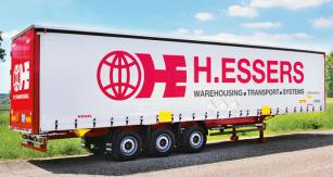 Kögel Cargo Rail s výbavou H.Essers