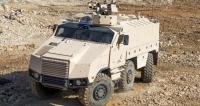 OT Titus 6x6 postavila na podvozku Tatra firma Nexter
