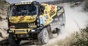 LIAZ s Martinem Macíkem celkově vyhrály Baja Aragon 2017