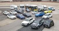 Rodina elektrických, hybridních, plug-in hybridních a vodíkových automobilů koncernu Daimler AG