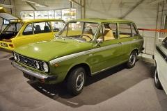 Kombi DAF 66 1300 Marathon svýbavou Super Luxe (1974) již poháněl vzduchem chlazený čtyřválec Renault o objemu 1298 cm3 (57 k)