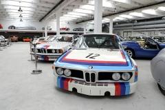 Závodní BMW 3.0 CSL vtypickém bojovém zbarvení