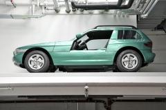 """V rámci vývoje roadsteru Z1 vznikl koncem 80. let také prototyp Z1 Coupé, jehož pojetí se """"přetavilo"""" do sériového Z3 Coupé z roku 1998"""