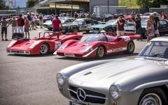 Mezi nejzajímavější exponáty soutěže Racecar-Trophy patřily Abarthy 2000 Sport a Sport-Spider (1968 a 1969) s dvoulitrovými motory o výkonu 250 koní