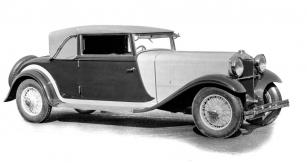 První karosovaná Tatra 80: dvoudveřový kabriolet z podzimu roku 1930