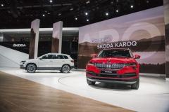 Výstavní premiéru ve Frankfurtu slavila také Škoda Karoq, pětimístné středně velké SUV