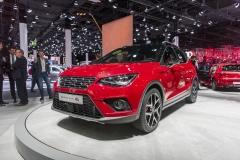 Seat Arona, kompaktní SUV se sportovně střiženým kabátem anejnovější technikou VW Group. Zatím jen s motory 1.0 TSI o výkonu 70 a 85 kW (95 a 115 k)