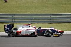 Santino Ferrucci (USA) z týmu Trident je už nyní testovacím jezdcem formule1 (Haas)