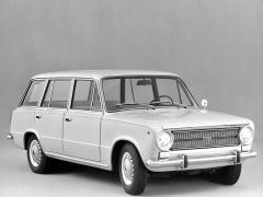 Takto vypadalo kombi Fiat 124 Familiare po poslední modernizaci, provedené roku 1972
