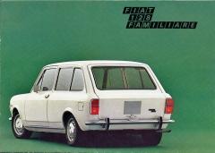 Fiat 128 Familiare se vyráběl pouze sjedním párem bočních dveří. Vmalém množství se dostal i do ČSSR