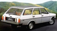Úhledný Fiat 131 Panorama se nabízel i se vznětovým motorem. Na snímku verze z roku 1978