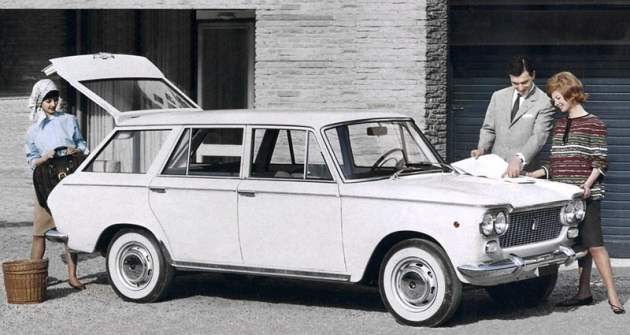 Výrobu kombíků, odvozených od sedanů řady 1300/1500, Fiat svěřil turínské karosárně OSI