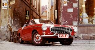 Kupé Volvo 1800 S, čtyřválec 1,8 l/73 kW (100 k) z let 1959 – 1972