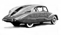 """V zádi ozdobené svislou """"ploutví"""" se skrýval třílitrový motor V8"""