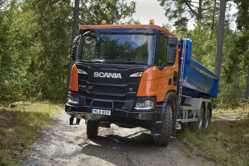 Scania XT P410 B6x6HZ snovou budkou