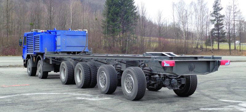 Viacnápravové vozidlá Tatra Force dokážu zákazníkom ponúknuť úplne unikátne technické ajazdné vlastnosti.