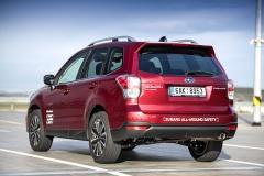 Subaru Forester je robustní středně velké SUV, vždy vybavené plochými motory a pohonem všech kol