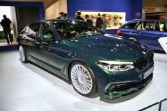 """Alpina D5 S, nejrychlejší sériově vyráběný """"diesel"""" na světě, měla ve Frankfurtu světovou premiéru"""