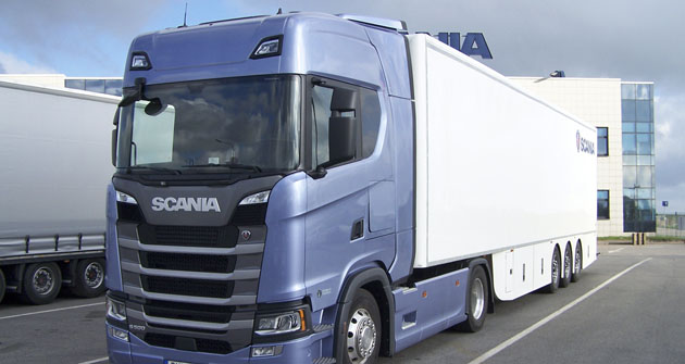 Nová Scania S 500 Truck of the Year 2017