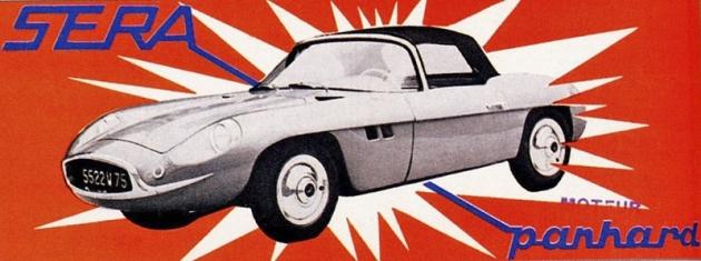 Sera SP 5 – prospekt z Paříže 1959