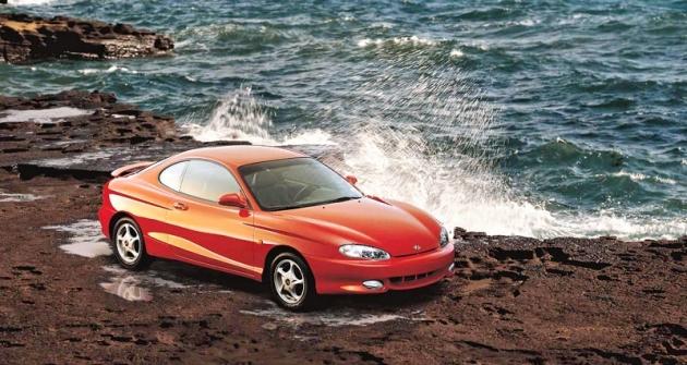 Hyundai Coupé druhé generace (model 1997)