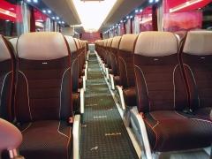 Pohodlný interiér pro cestující