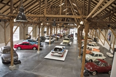 Mazda Classic Automobil Museum Frey je umístěné v bývalém tramvajovém depu v blízkosti centra německého Augsburgu